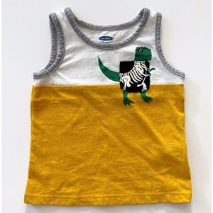 🦖Old Navy Sleeveless Pocket Tank Top 12-18 Months